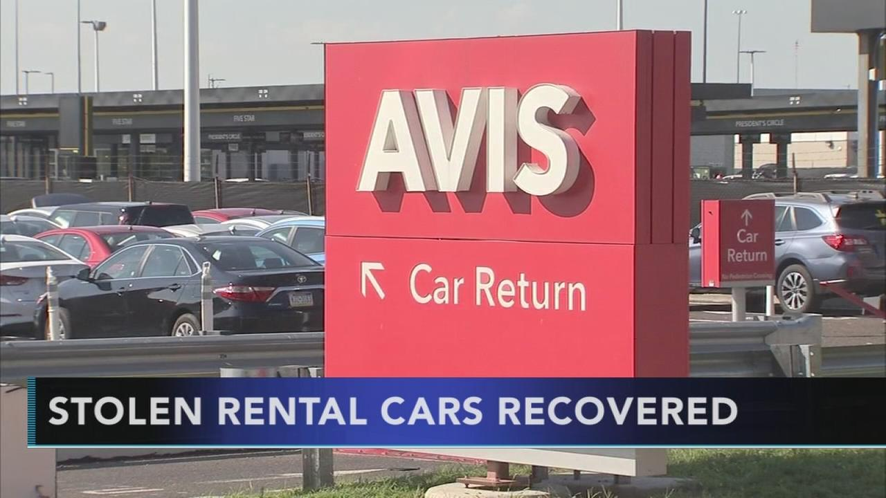 VIDEO: Cars stolen from Avis recovered