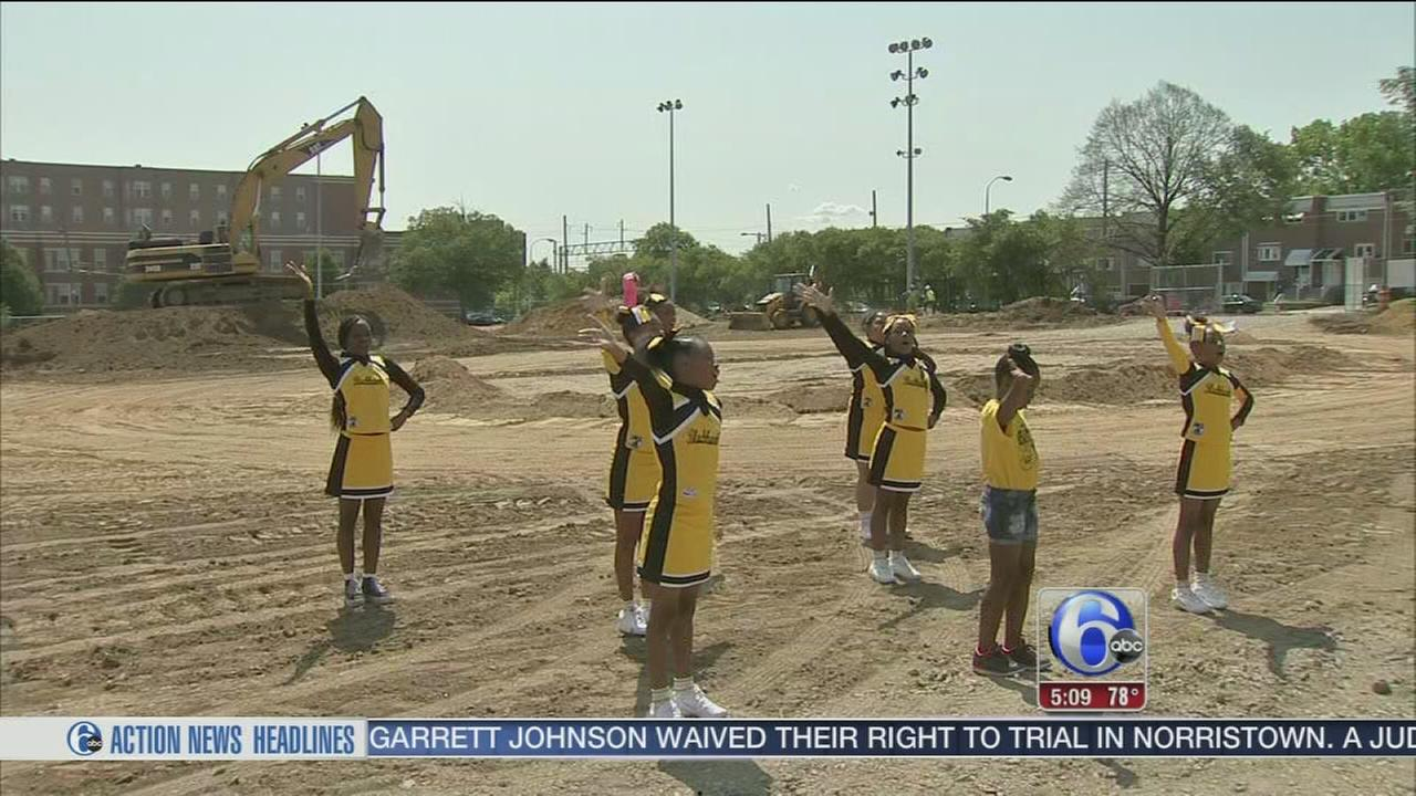 VIDEO: Groundbreaking at new youth athletic field in North Philly