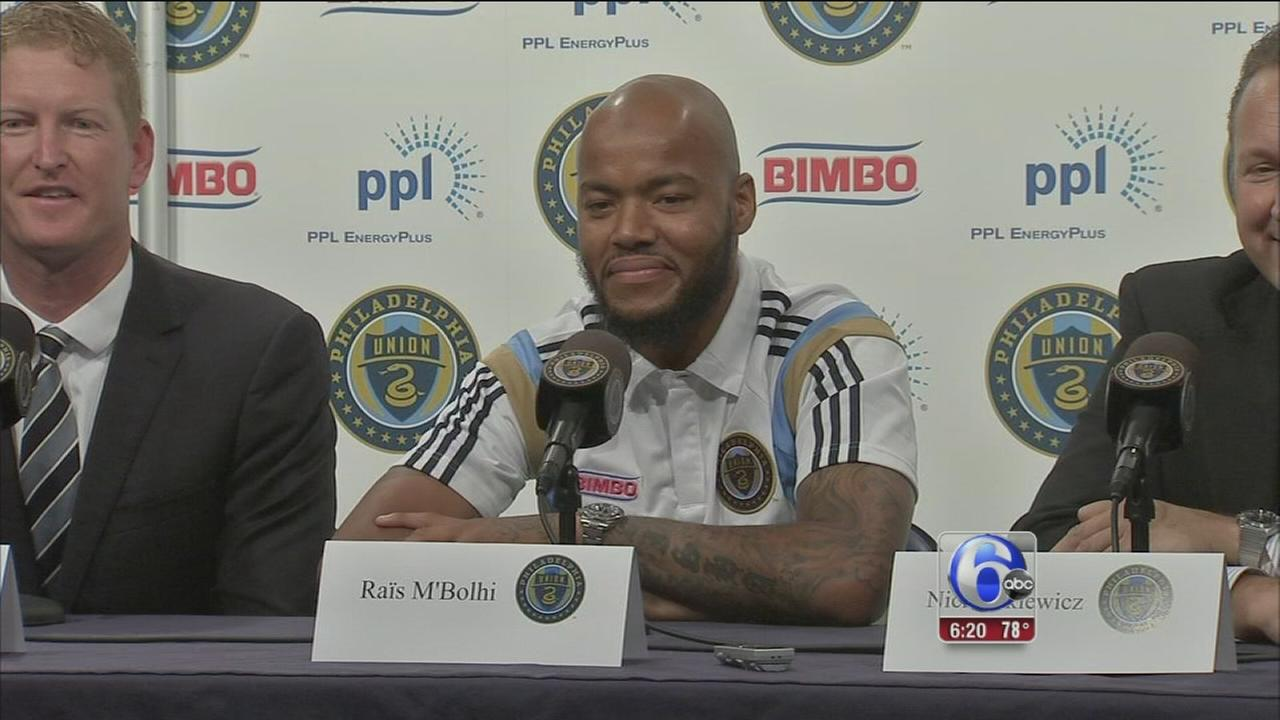 VIDEO: Philadelphia Union acquires new goalkeeper