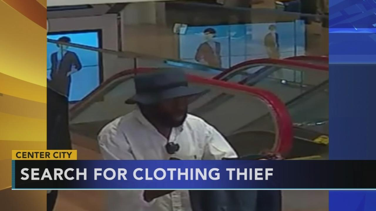 Thief threatens to stab guard at Center City store