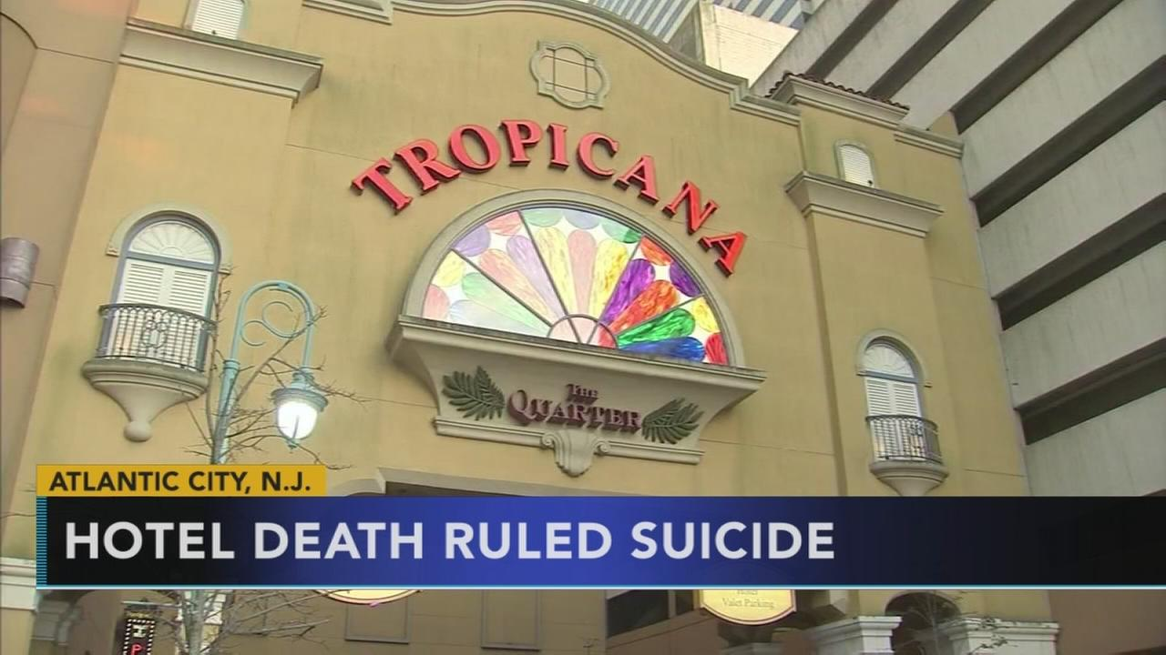 Tropicana Hotel death ruled suicide