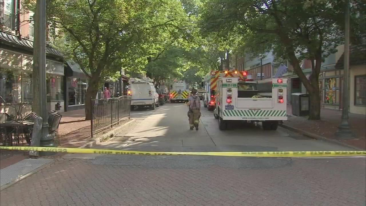5 firefighters injured in West Chester fire, evacuations lifted