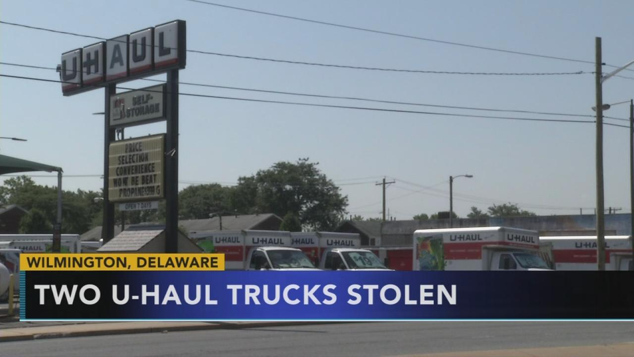 2 U-Haul vehicle stolen in Wilmington