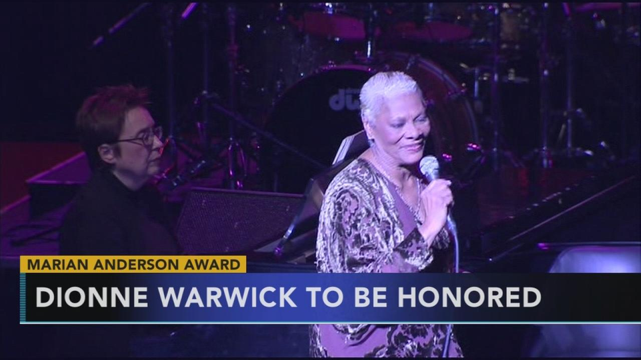 Dionne Warwick to be honored