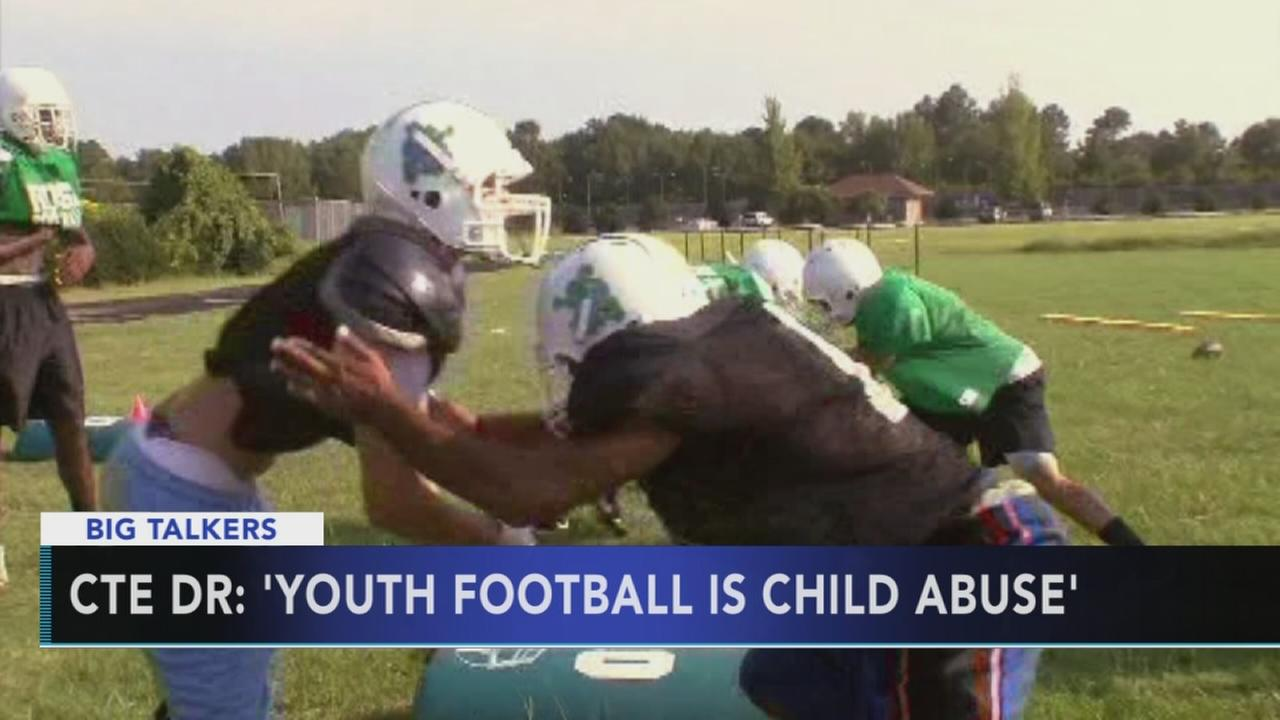 Concussion doctor says youth football is child abuse