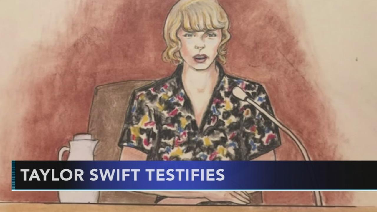 Taylor Swift testifies in court