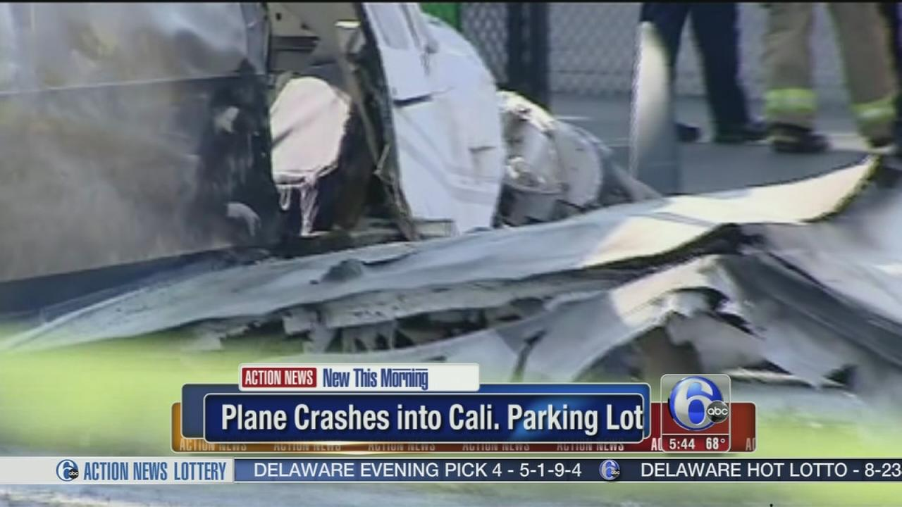 VIDEO: Plane crashes into Calif. Costco parking lot