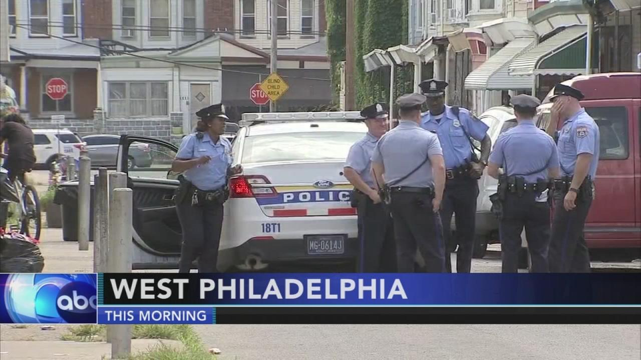 Shooting suspect arrested after standoff in West Philadelphia