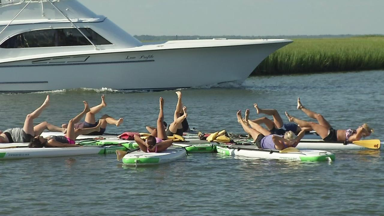 Fitness Friday: Power Paddle workout on the bay