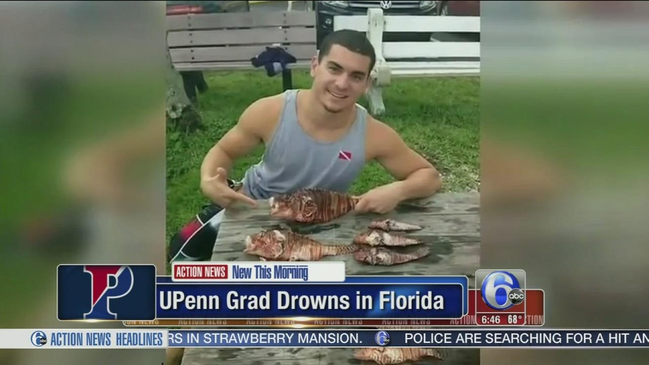 VIDEO: Recent UPenn grad drowns in Florida accident