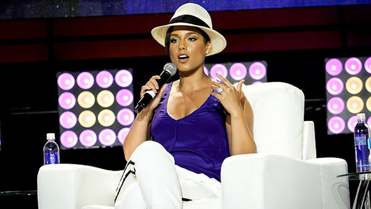 Alicia Keys attends the 2014 Essence Music Festival Concert - Day 2 at the Ernest N. Morial Convention Center on Friday, July 04, 2014, in New Orleans LA.
