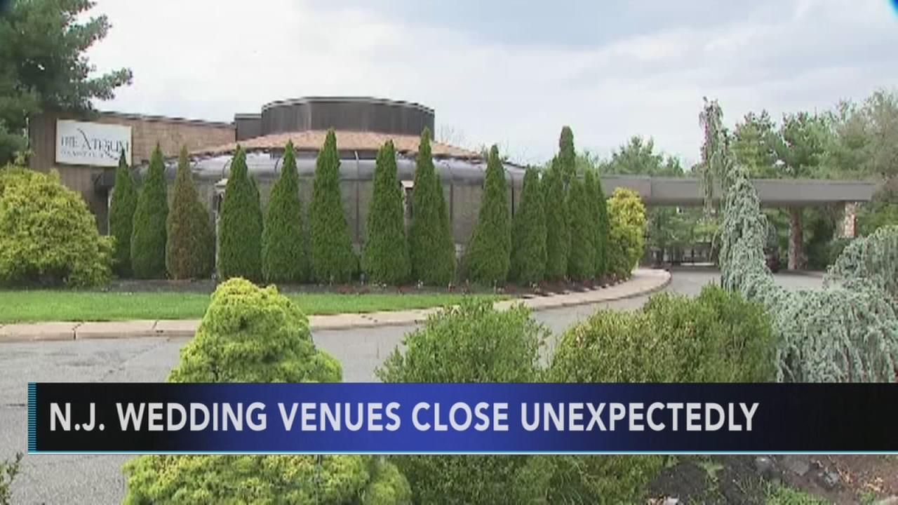 Two New Jersey wedding venues close unexpectedly