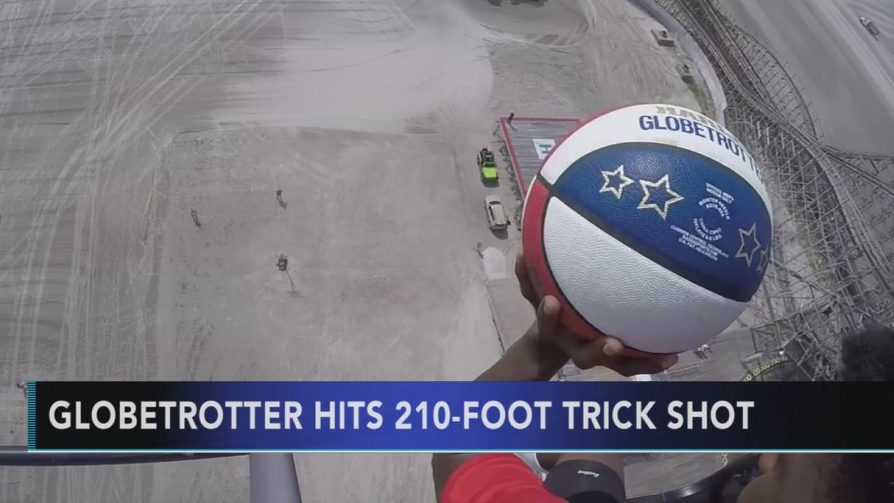Harlem Globetrotters soar to new heights at the Jersey Shore