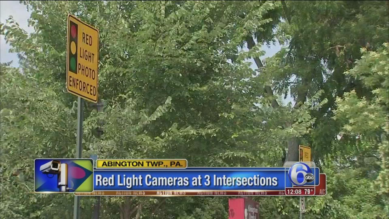 VIDEO: Red light cams come to Abington