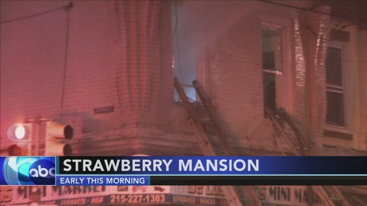 Fire damages Strawberry Mansion store