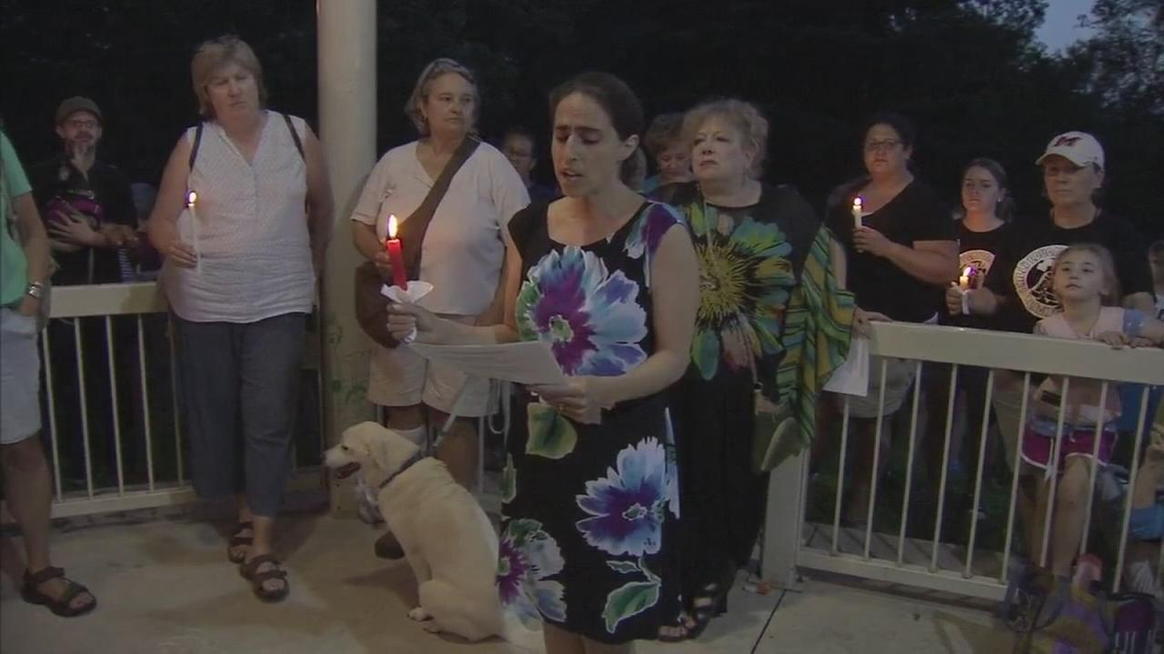 Vigils continue as folks condemn the violence in Charlottesville