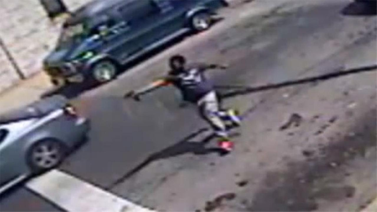 Cameras capture shooting in broad daylight in North. Philadelphia