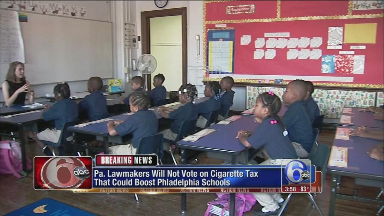 VIDEO: Report: Cigarette tax for Philly schools stalls
