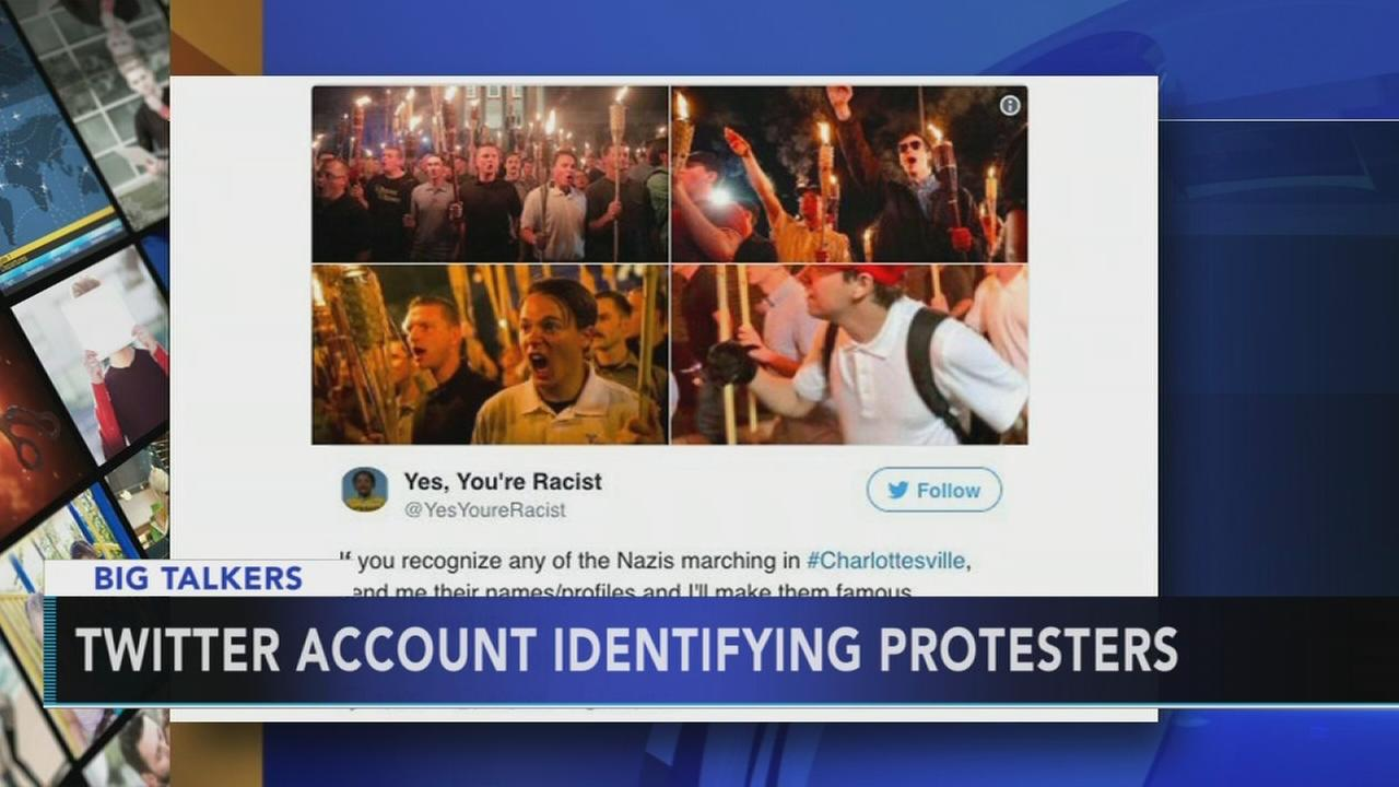 Twitter account set up to identify Unite the Right protesters