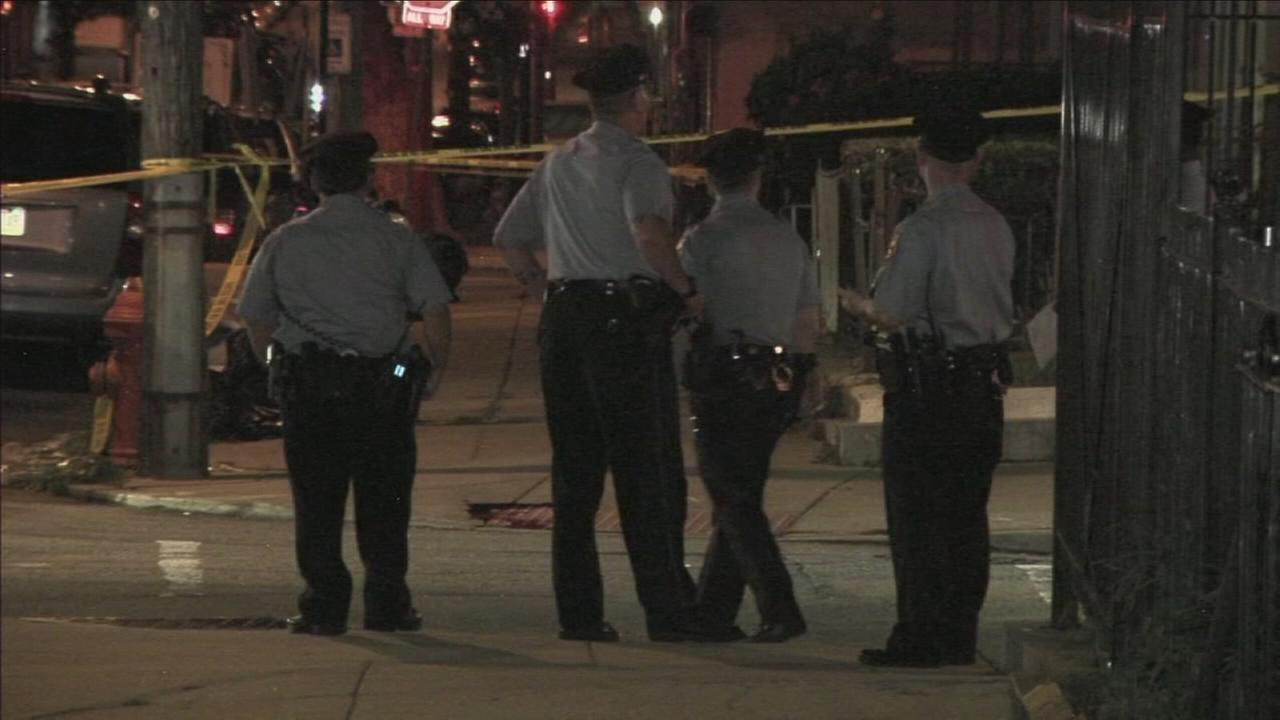 VIDEO: 4 people shot at block party in Mantua