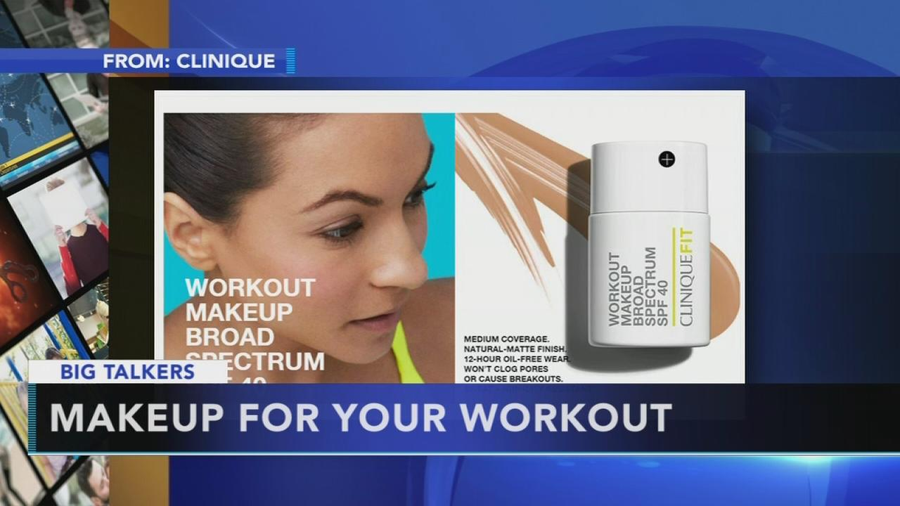 New makeup promises to stay put through gym sweat sessions