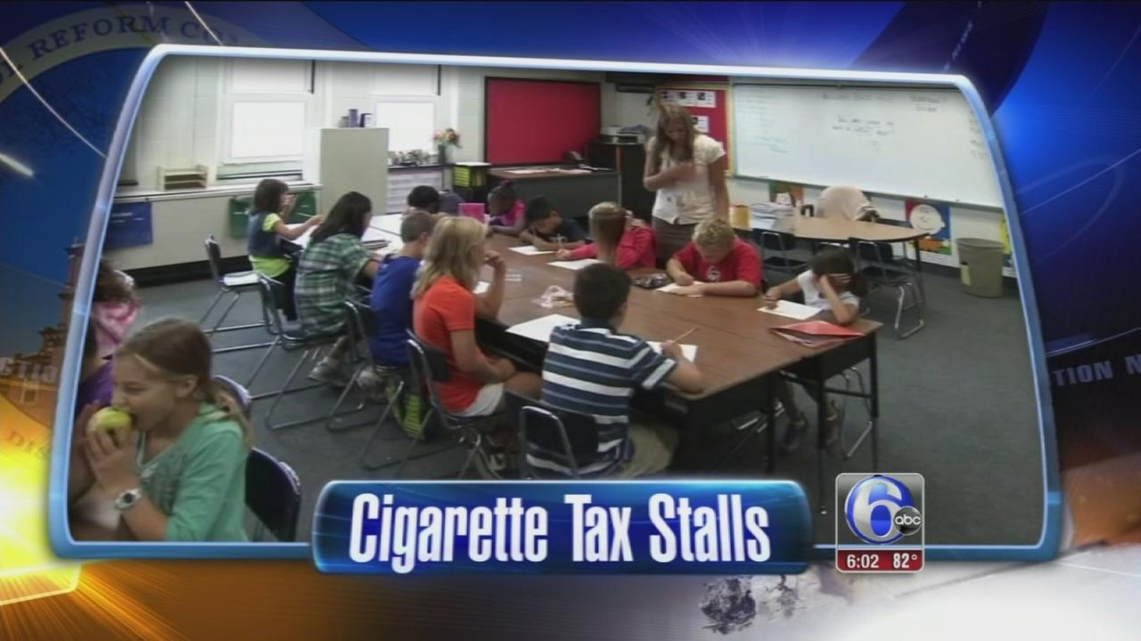 VIDEO: Cigarette tax for Phila. schools stalls, jobs jeopardized