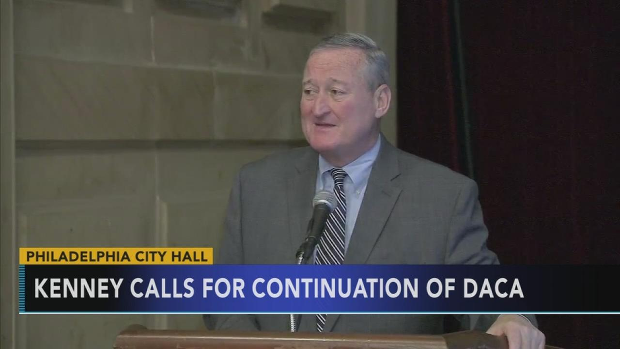 Kenney calls for continuation fo DACA