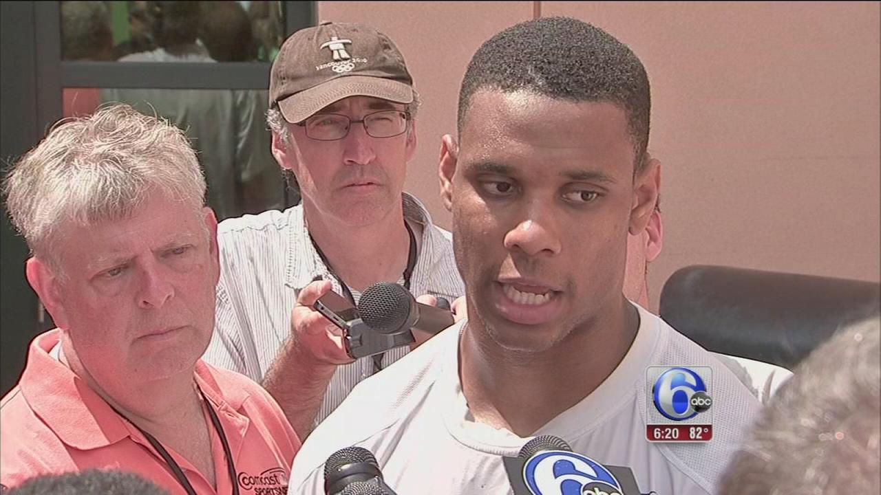 VIDEO: Jordan Matthews impresses at Eagles training camp
