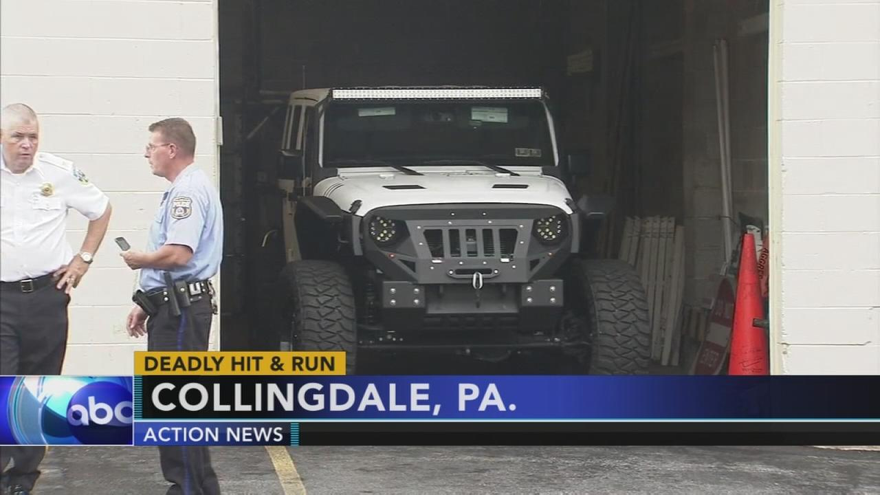Police recover Jeep possibly linked to Center City hit-and-run