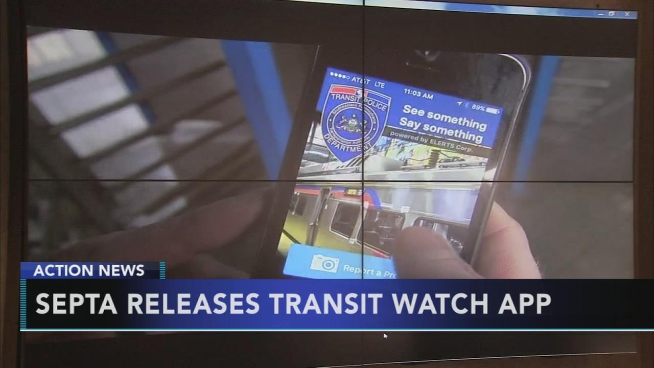 SEPTA unveils Transit Watch app