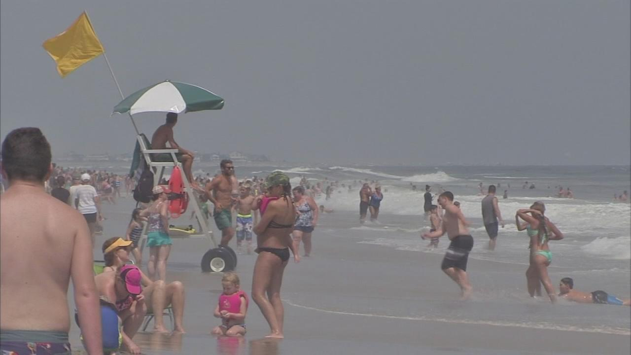 High risk for rip currents along New Jersey shore