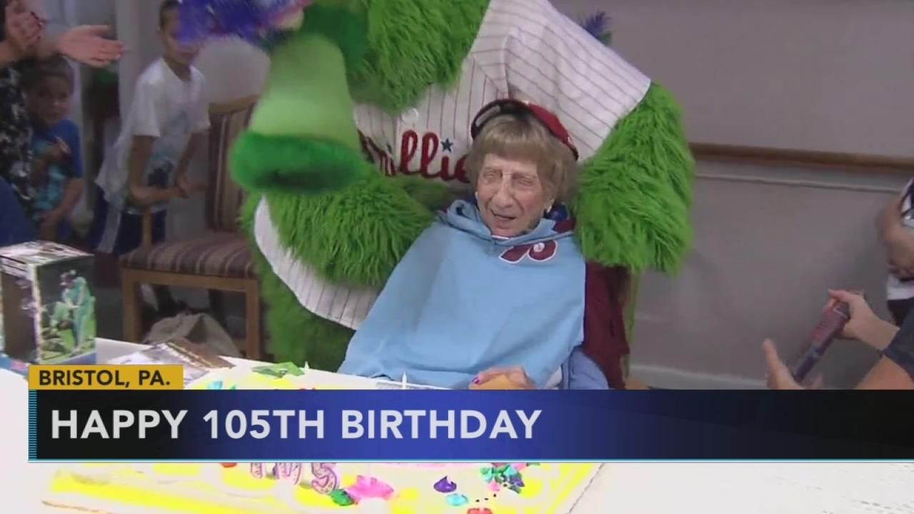Oldest living Phillies fan