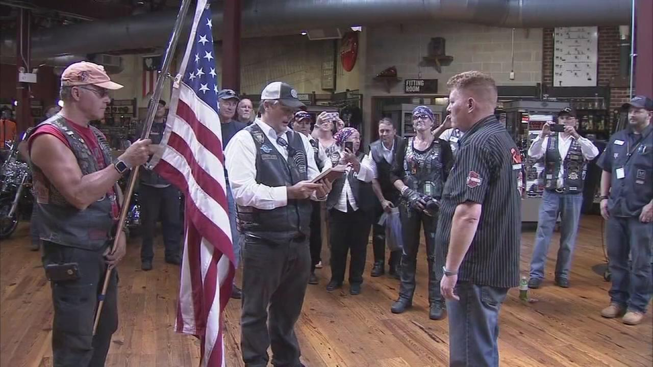 Old glory raising money for wounded veterans