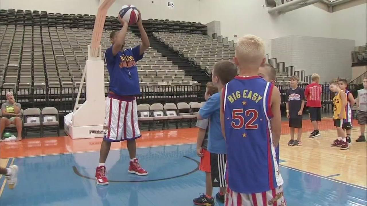 Globetrotters basketball clinic