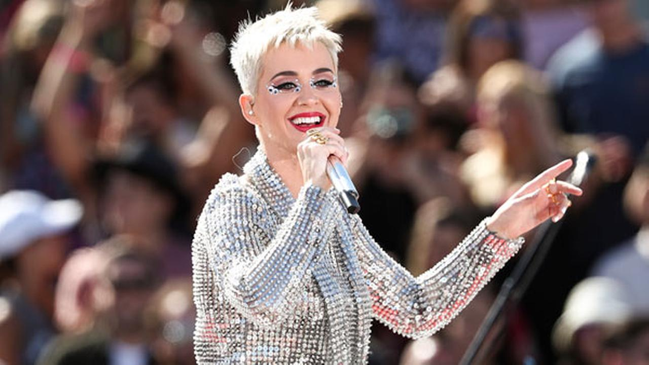 FILE - In this Monday, June 12, 2017, file photo, Katy Perry performs during Katy Perry - Witness World Wide exclusive YouTube Livestream Concert in Los Angeles.