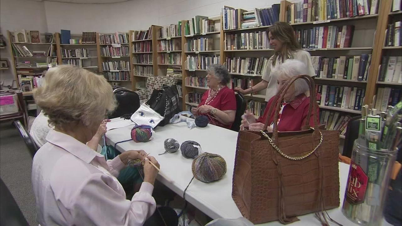 Art of Aging: KleinLife Community Center knitters