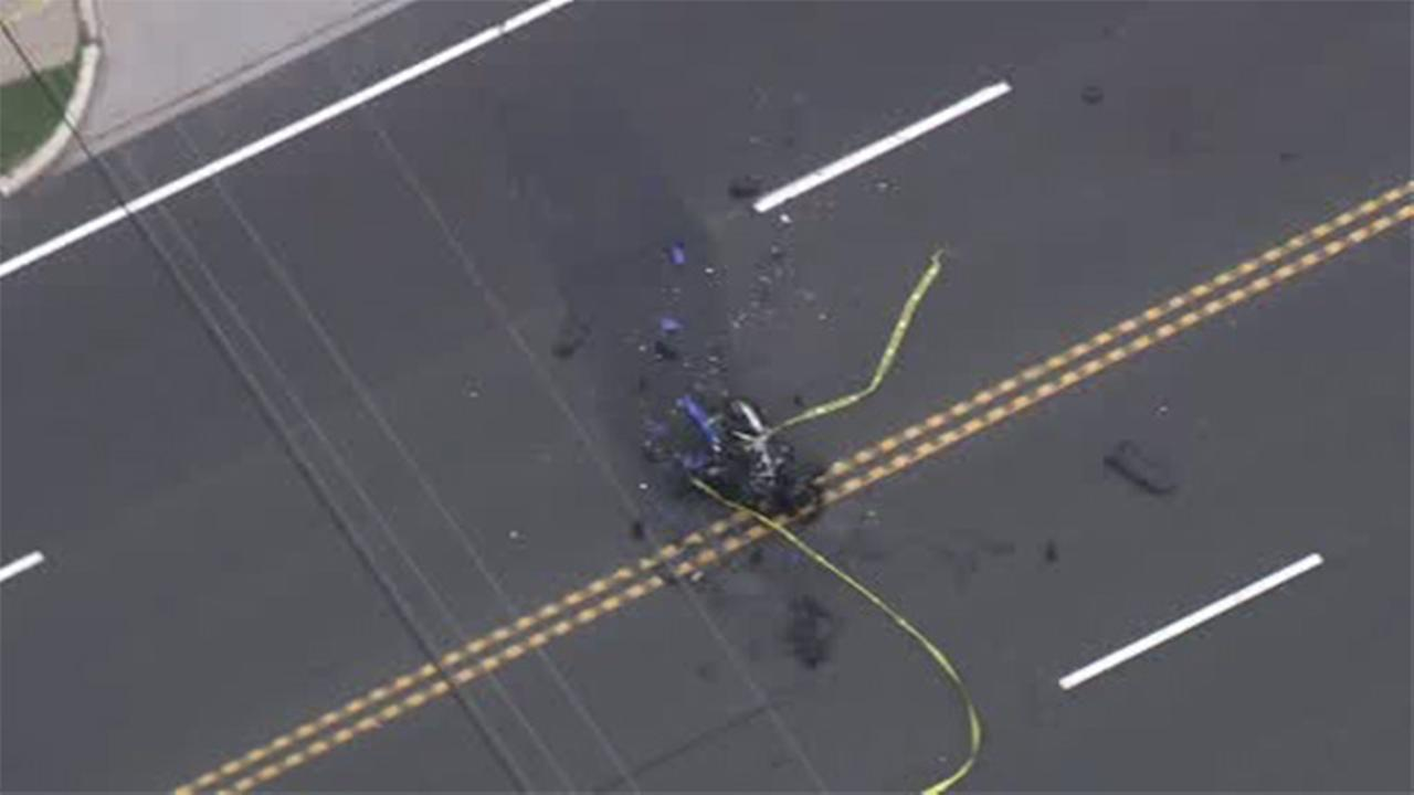 Motorcyclist killed in crash in Camden County