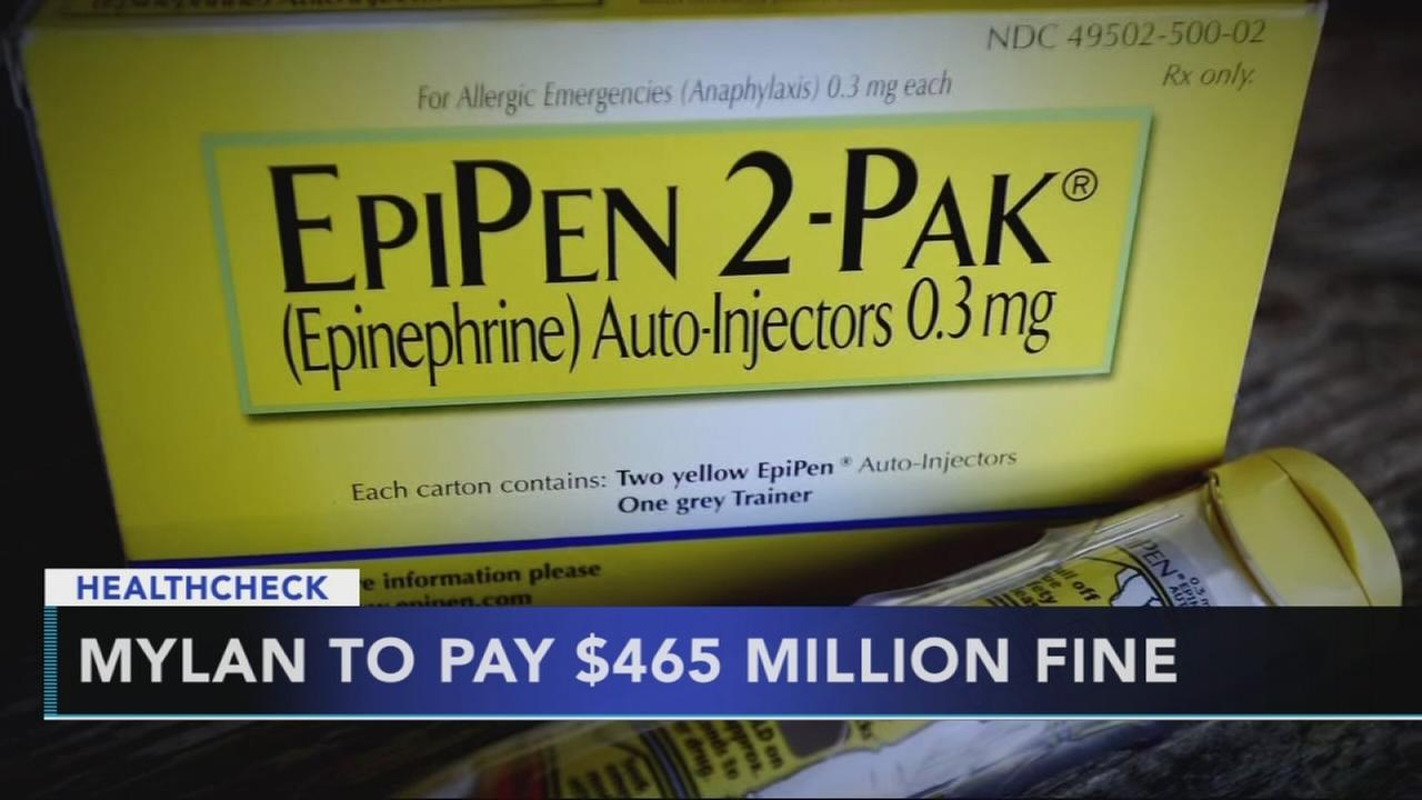 EpiPen maker finalizes settlement for government overcharges