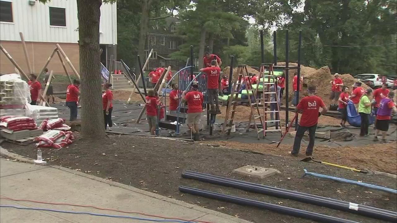 New playground for Fountain Academy