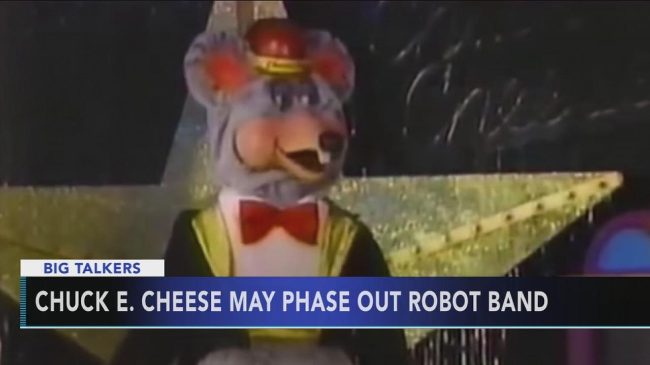 Chuck E. Cheese to phase out robot band