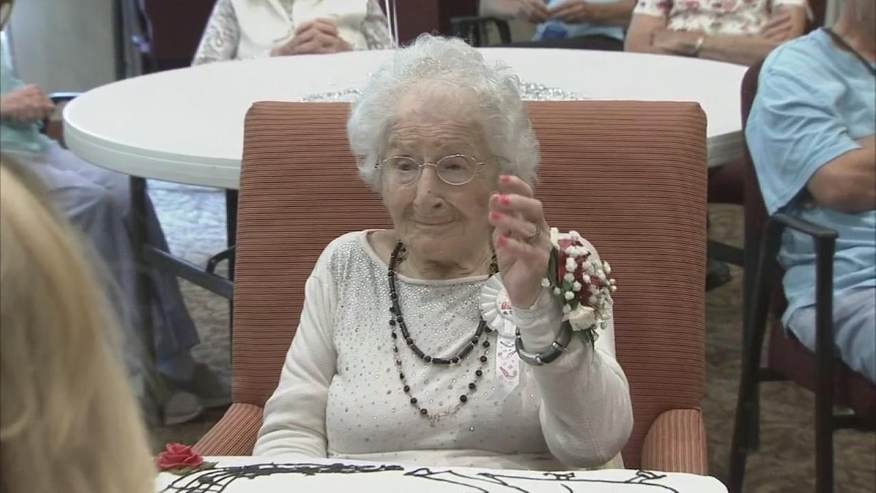 Chester County woman celebrates 105th birthday