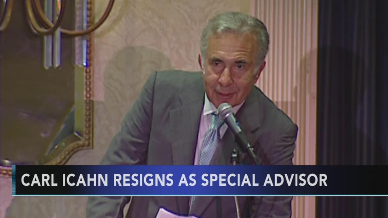 Carl Icahn steps down as unofficial Trump adviser
