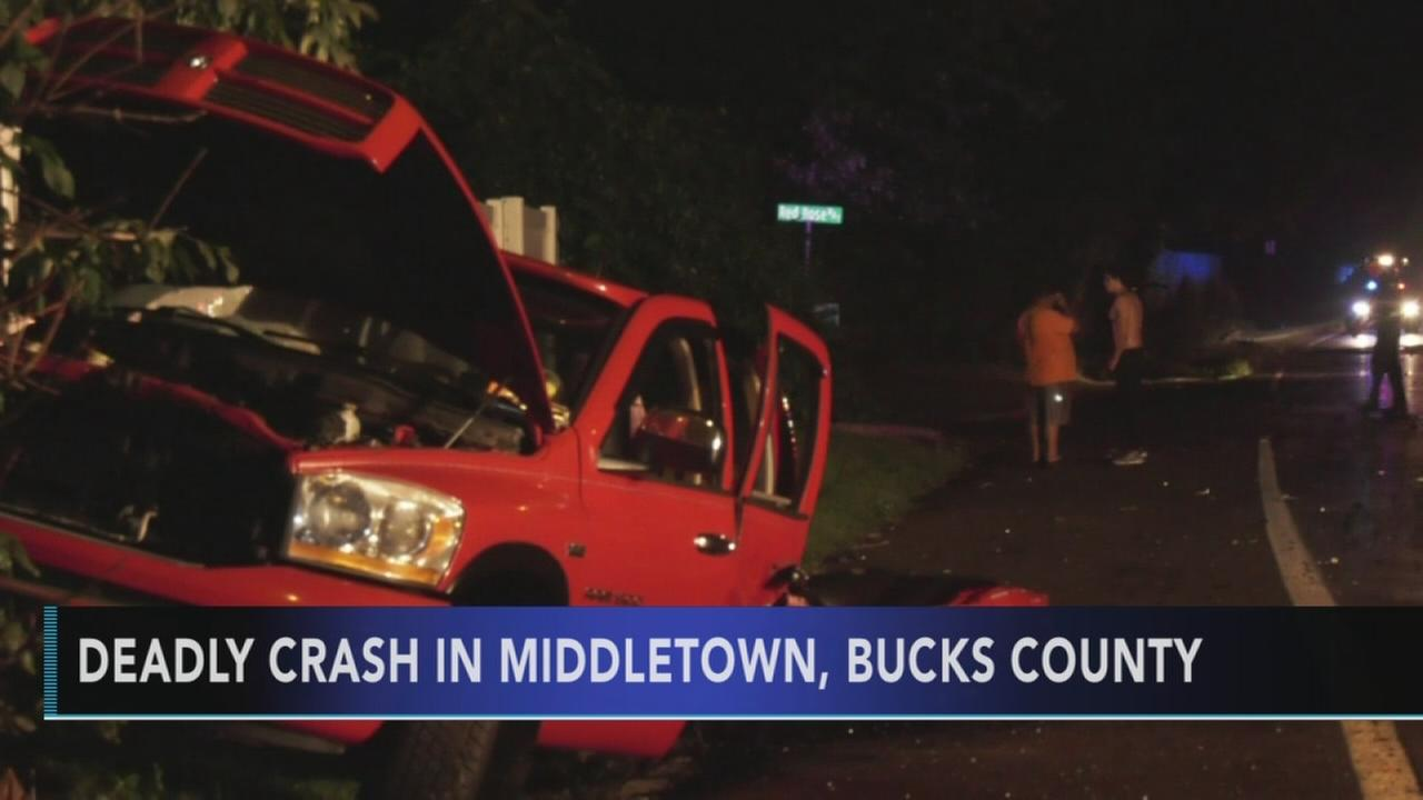 Driver killed in Bucks County crash