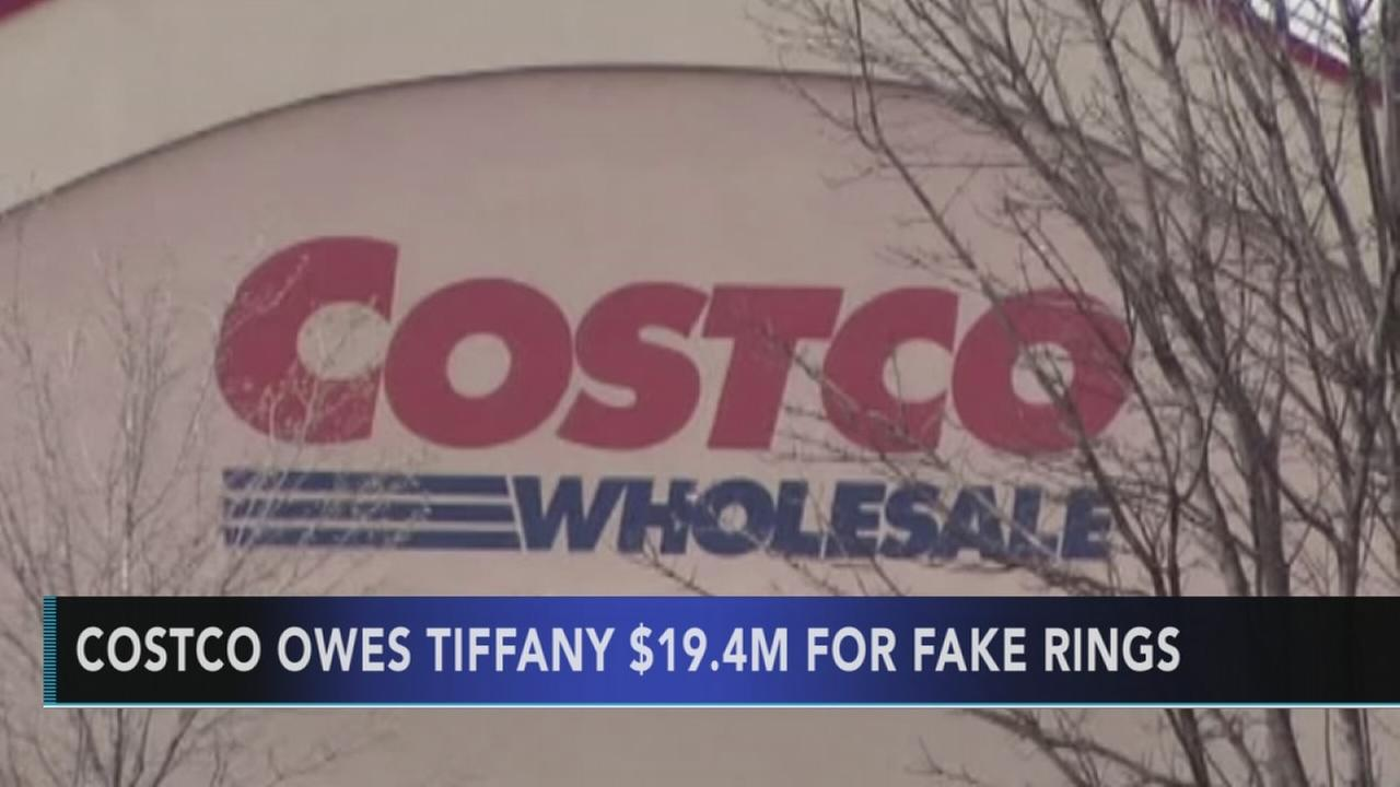 Costco to owe Tiffany jewelers $19.4M for fake rings