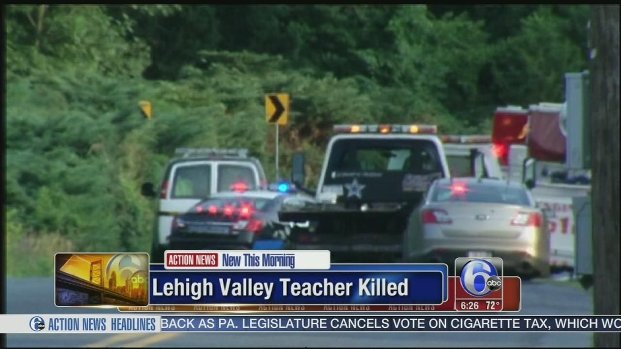 VIDEO: Allentown teacher killed in motorcycle crash