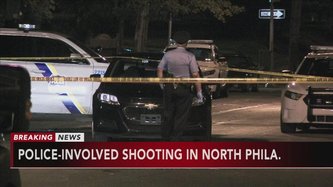 Police-involved shooting in North Philadelphia
