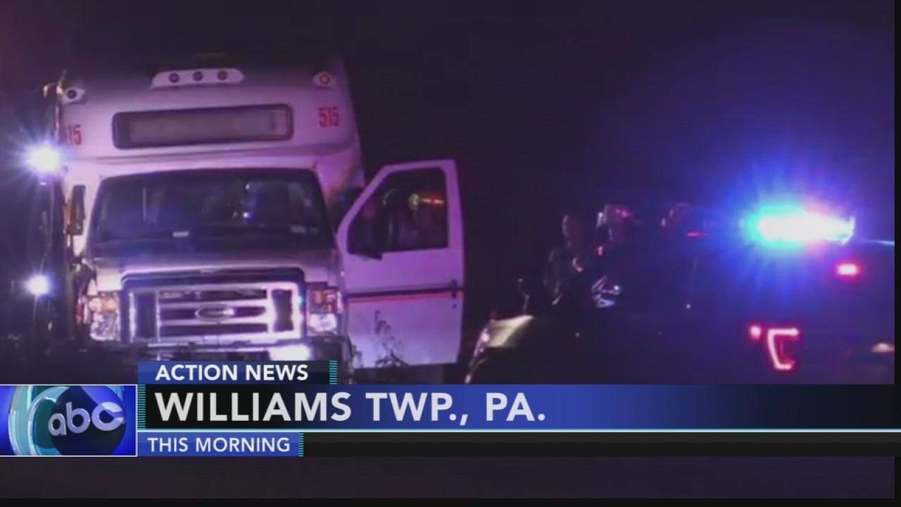 26 injured in Northampton County bus crash