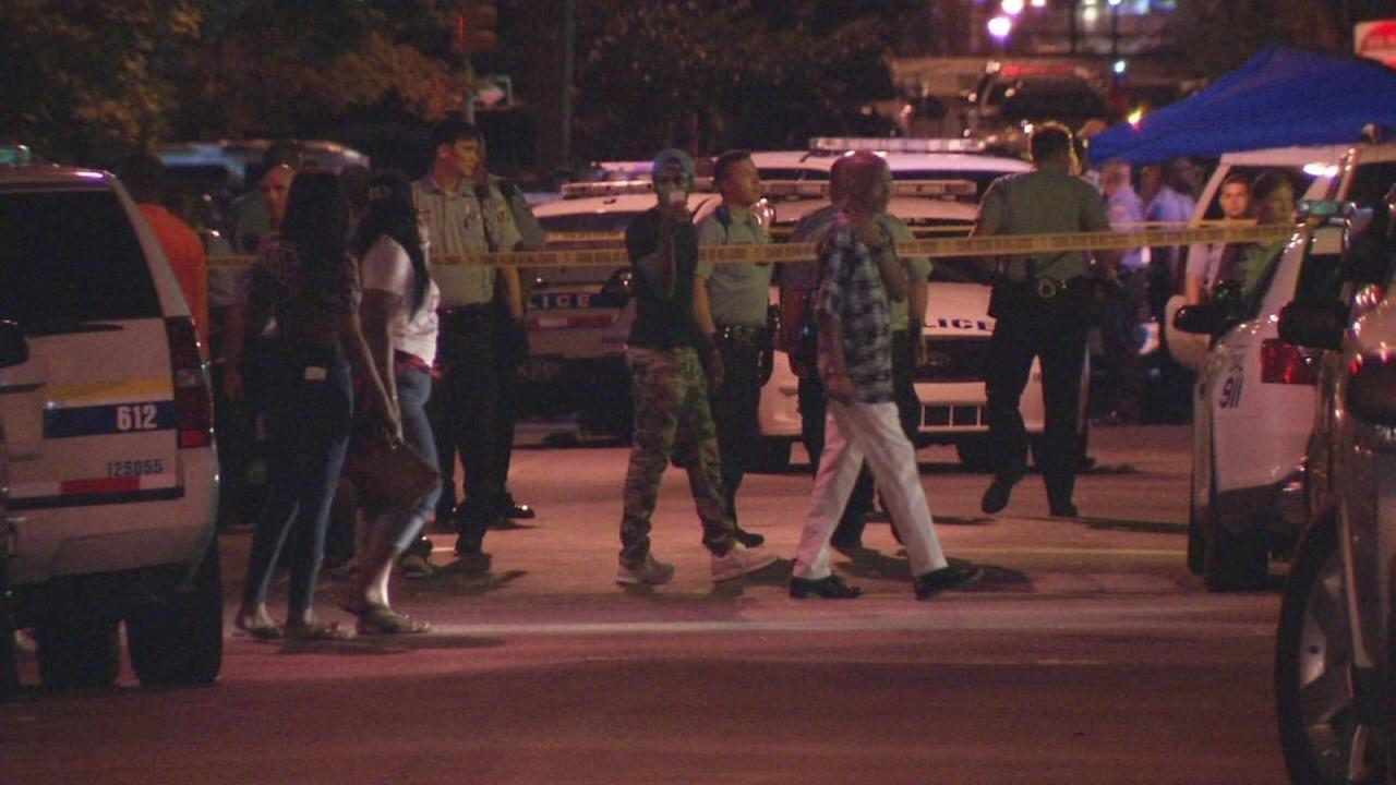 Police-involved shooting near block party in North Phila.