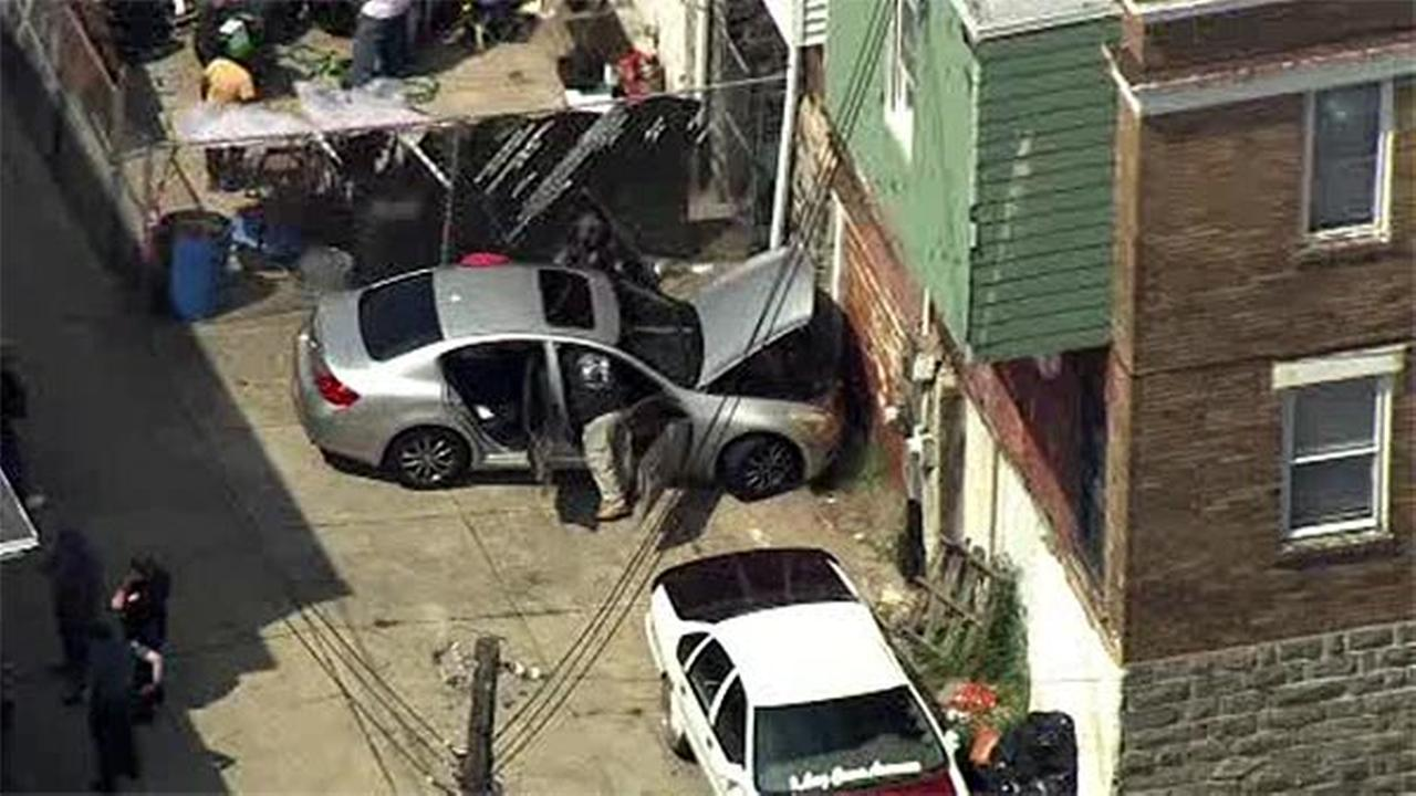 Police chase car from Darby Township into Southwest Philadelphia
