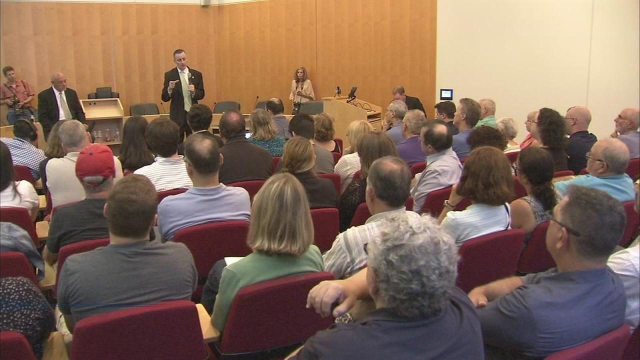 Brian Fitzpatrick holds town hall meeting